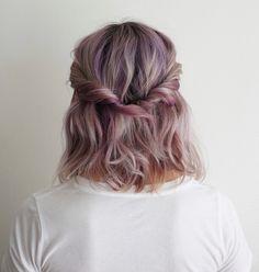 Half Up | Hairstyle | Twist