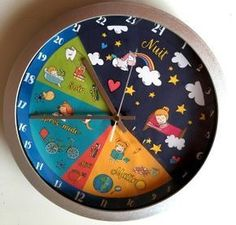 Horloge à fabriquer