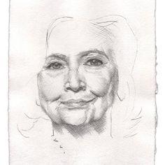 Michael St. John - Hillary, Work on Paper