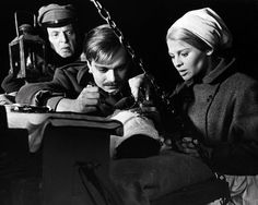 This image is from Doctor Zhivago and features Omar Sharif as Yuri and Julie Christie as Lara
