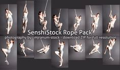 Rope Pack - Collab with `mjranum-stock by SenshiStock