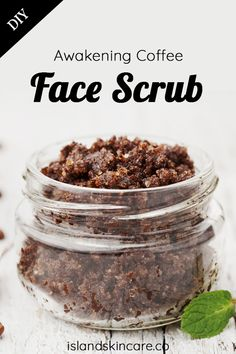Skin Care that Let Your Radiance Shine Through - Beauty Set Skincare Coffee Face Scrub, Diy Face Scrub, Face Scrub Homemade, Homemade Skin Care, Natural Face, Natural Skin Care, Scrub Island, Get Rid Of Pores, Coconut Oil Scrub