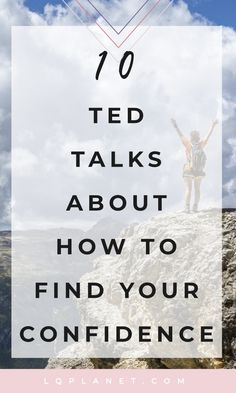 Inspirational TED Talks About Building Confidence 10 Inspirational TED Talks About Confidence; Photo by Samuel Clara on Inspirational TED Talks About Confidence; Photo by Samuel Clara on Unsplash Self Confidence Tips, Confidence Quotes, Confidence Building, How To Build Confidence, Inspirational Ted Talks, Best Ted Talks, Pep Talks, Motivacional Quotes, Life Quotes