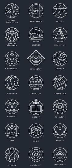 Materias en dibujos