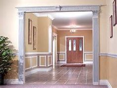 See different applications of wainscoting in the gallery.