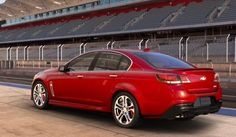 2016 Chevrolet SS Red