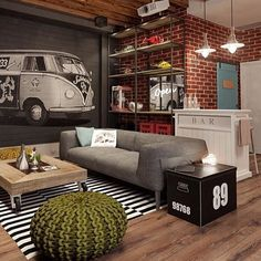 The ultimate cool quaint bachelor pad