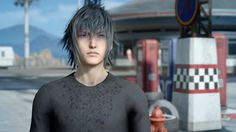 Final Fantasy lead character was inspired by Kurt Cobain Square Enix Games, Noctis Lucis Caelum, Final Fantasy Xv, Kurt Cobain, Finals, Writer, Character, Android, Technology