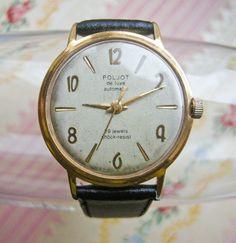 Rare Soviet Russia wrist watch Poljot De Luxe by CockroachShop, $120.00