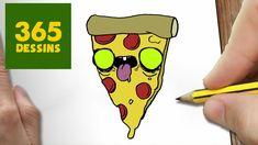 COMMENT DESSINER PIZZA ZOMBIE KAWAII ÉTAPE PAR ÉTAPE – Dessins ... Kawaii Halloween, Zombie Food, Cute Easy Drawings, Halloween Drawings, Food Drawing, Drawing Ideas, Cute Faces, Cartoon Drawings, Art Sketches