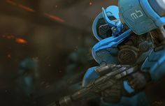 ArtStation - //BlueSquad, Marc Brunet