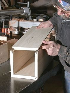 How to make Lock Miter Joints #homewoodworkingshop  #WoodworkTechniques