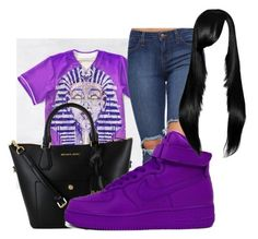"""""""Purple!!!!"""" by love04444 ❤ liked on Polyvore featuring NIKE"""