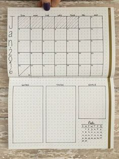 Vertical Twist love this easy to make and well organized bullet journal, bujo, layout. great bujo layout ideas, clean and easy bujo layout Planner Bullet Journal, Bullet Journal Spread, Bullet Journal Inspiration, Life Planner, Bullet Journal How To Start A Layout, Bullet Journal Layout Ideas, Calendar Journal, Journal Organization, Diy Organization