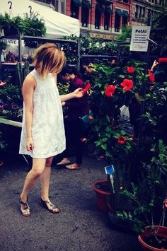 Laced Poplin Swing Dress by HD in Paris #anthrofave #anthropologie