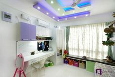 Bakshi's Appartment in Skylark Esta,Hoodi Circle Wall Shelf Unit, Wall Shelves, Pooja Room Door Design, Cupboard Design, Skylark, Pooja Rooms, Room Doors, Living Room Decor, House Plans