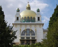 Steinhof Church by Otto Wagner in Vienna. i didn't get to see this one when we went to vienna.