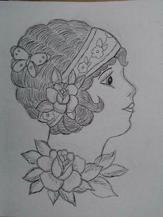 A quick sketch.   Katie Smyth