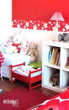 WERANNA'S: Colorful playroom - värikäs lastenhuone