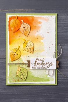 use lawn fawn fall leaves for this