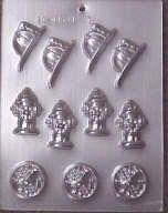 Fireman candy mold