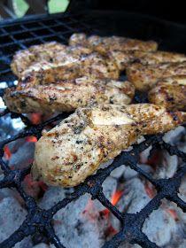 Plain Chicken: Grilled Italian Chicken Tenders