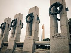 The National World War II Memorial in Washington DC.  #travel #washington #washingtondc #dc #usa #reisen #reise #urlaub #vacation #voyage #voyager #viaje #resa #viaggio #viaggiare #tourism #monument #memorial #wwii #worldwar2 #worldwarii #military #art #publicart #washingtonmonument #history by vincienzo89