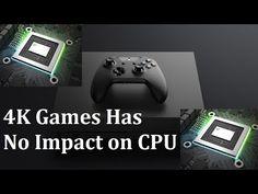 Xbox One X-  4K Games Has No Impact on CPU, GPU Allowed Increased LOD An...