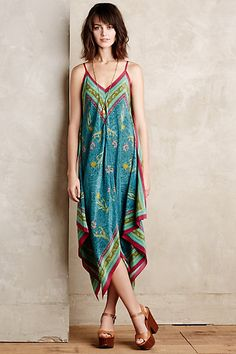 Selva Silk Maxi Dress #anthropologie I ordered this in petite on Sunday and can't wait till it arrives!!