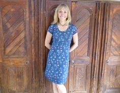 Michaela Strachan loves her Mantaray dress supporting the Marine Conservation Society