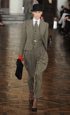 New York Fashion Week: Ralph Lauren autumn/winter 2012