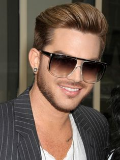 Adam Lambert Flashes A Smile As He's Spotted In New York City