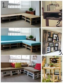 Ambrosia's Creations: *March* Round-Up: DIY Pallet Projects