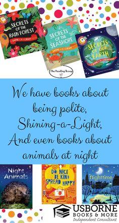 All Kinds of Usborne Books & More