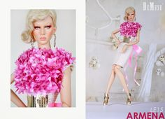 DéMuse High Fashion Doll: ARMENA LE15 available for pre-order now