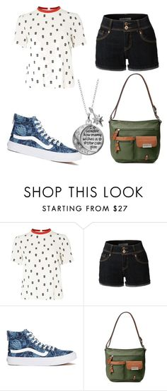 """Fangirl"" by emmylong04 on Polyvore featuring Dorothy Perkins, LE3NO, Vans, Rosetti and Disney"