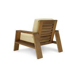Ralph Lauren Desert Modern Wood Club Chair