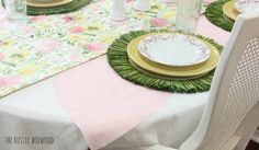 Playing with fabrics for your tablescape   The Rustic Boxwood