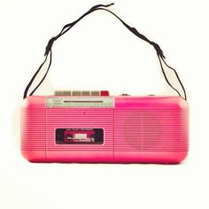 Our portable music...mine was purple