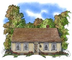 Colonial House Plan - 1775 sq. ft., 4BR, 2.5BA - dining area a bit small