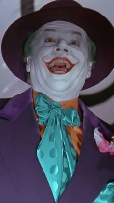 Joker Nicholson, Jack Nicholson, Bat Joker, Joker Dc Comics, Comic Villains, Batman Returns, Batman Robin, Tim Burton, Gotham