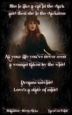 Stevie Nicks.Don't really know her well but my mother is a huge fan so this is mainly for her                                                                                                                                                     More