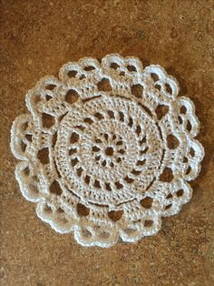 Crochet Skull doily                                                                                                                                                                                 More