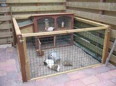 Afbeeldingsresultaat voor zelf konijnenhok maken