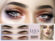 the sims 4 eyebrows Los Sims 4 Mods, Sims 4 Game Mods, Sims Four, Sims 4 Mods Clothes, Sims 4 Clothing, Sims 4 Tsr, Sims Cc, The Sims 4 Skin, Sims 4 Anime