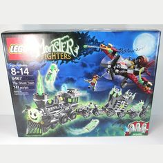 for sale lego monster fighter 9467 the ghost train retired sealed new lego - Lego Halloween Train
