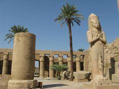 Templo Karnak,em Tebas