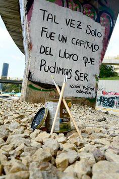 Tal vez solo fue un capítulo del libro que pudimos ser #Acción Poética Colombia #accionpoetica