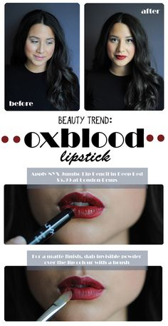 How-To: Oxblood Lips