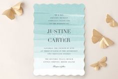 Old Post Road Wedding Invitations by Jennifer Wick at minted.com